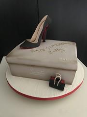 Louboutin shoe cake for a 40th. Happy birthday Kelly! #louboutinshoes #louboutinheels #louboutincake #christianlouboutincake #planitcake #cakeporn #somersetweddingcake #dorsetcake #weddingcakesdorset #designershoecake (planitcake) Tags: louboutinshoes louboutinheels louboutincake christianlouboutincake planitcake cakeporn somersetweddingcake dorsetcake weddingcakesdorset designershoecake