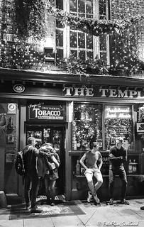 Temple Bar at Christmas