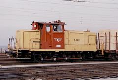 NSB Di 5 861 (Stig Baumeyer) Tags: diesellocomotive diesel diesellokomotive diesellok diesellokomotiv nsb norgesstatsbaner di5 nsbdi5 switcher shunter skiftelokomotiv rangierlokomotive v60 db deutschebundesbahn dbv60 mak