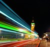 lightstreaks by the big ben (now for sale on getty images) (Rex Montalban Photography) Tags: rexmontalbanphotography england greatbritain unitedkingdom europe bigben lightrails lightstreaks hdr