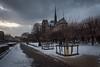 Notre Dame (MrBlackSun) Tags: snow paris feb2018 seine laseine floods notredame nikon d810