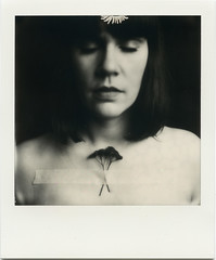 A. (denzzz) Tags: portrait polaroid polaroidoriginals impossibleproject 600bw blackwhite blackandwhite skancheli instantfilm analogphotography filmphotography slr680