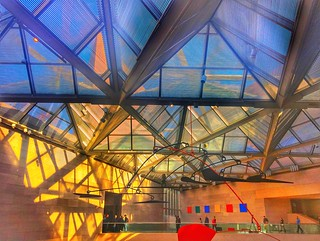 Light and shadows. East Wing National Gallery of Art DC