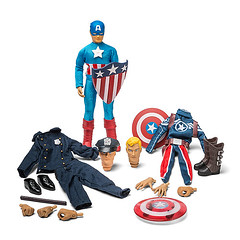 Captain America Superhero Retro Set (mywowstuff) Tags: gifts gadgets cool family friends funny shopping men women kids home