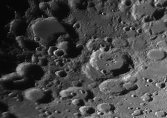 2018-02-22 19-06UT Stofler & Maurolycus (Roger Hutchinson) Tags: stofler maurolycus moon space astronomy london craters celestronedgehd11 asi174mm televue powermate astrophotography