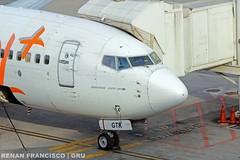 PR-GTK (renanfrancisco) Tags: gol gollinhasaéreas g3 golairlines prgtk boeing boeing737 737 737800 738 b737 boeing737800 gate gru sbgr gruairport guarulhosairport airport aeroporto aeropuerto airlines spotting
