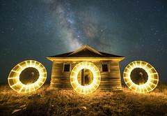 O O O (Lightcrafter Artistry) Tags: lightpainting longexposure milkyway nightphotography