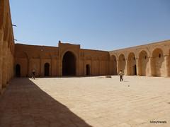 Ukhaidir Fortress (3).jpg (tobeytravels) Tags: iraq alukhaidir abbasid umayyad palace isaibnmusa gertrudebell unesco pishtaq bayts