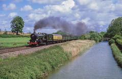 6024 At Crofton. 04/06/2005 (briandean2) Tags: 6024 crofton steam railways canals uksteam ukrailways