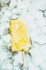 Yellow Ice Lolly Embedded In Ice Cubes ( Creative ) (Peter Greenway) Tags: icecubes ice frozen yellowicelolly fruit flickr icelolly lolly yellow icemaker creative cold frozeninice