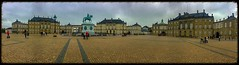 Amalienborg Royal Palace (Thanks for over 2 million views!!) Tags: amalienborgroyalpalace copenhagen copenhagendenmark denmark panaramic panoramic panaroma pano iphonecamera iphonese buildings people museum chadsparkesphotography clouds statue
