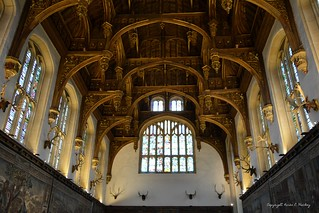 The Ceiling of The Great Hall