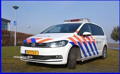 Dutch Police Touran HW. (NikonDirk) Tags: police politie vw volkswagen golf rotterdam rijnmond zuid holland 7 touran nikondirk dutch nederland netherlands nikon cop cops hulpverlening transporter t5 foto pz772f 7xbr93 hoekse hoeksche