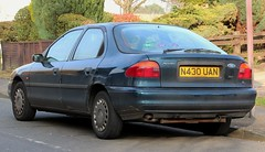 N430 UAN (Nivek.Old.Gold) Tags: 1995 ford mondeo 18 16v lx auto 5door lexford maidenhead