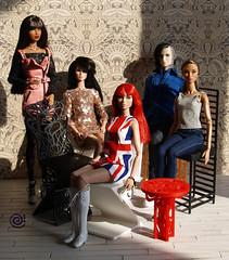 ♫ Belenojon ♫ (Belenojon) Tags: fashion royalty poppy parker homme dollsign dolls 12 group natalia isha techrat lilith