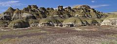 Ah-Shi-Sle-Pah badlands; San Juan Co., New Mexico, USA. (cbrozek21) Tags: ahshislepah badlands newmexico panorama rocks geology landscape desert