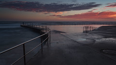 Collaroy Sunrise (RoosterMan64) Tags: australia clouds collaroy landscape longexposure nsw northernbeaches rockpool seascaspe sunrise