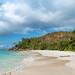 Anse Georgette beach Praslin Seychelles