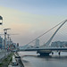 THE SAMUEL BECKETT BRIDGE 11 JANUARY 2018 [STILL TRYING FOR A UNIQUE IMAGE OF THIS BRIDGE]-135495