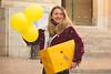 Joyeux anniversaire Nikon ! (clemgateau) Tags: nikon birthday 100years 100ans challenge color yellow yellowcolor smile gift baloons three girl girlsmile redjacket jacket