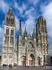 Catedral de Rouen - Francia (Txantxiku) Tags: rouen gótico francia normandia templosciudades
