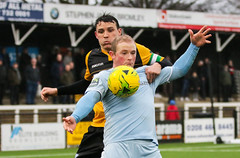 Cray Wanderers 1 Lewes 2 20 01 2018-267.jpg (jamesboyes) Tags: lewes cray bromley football bostik isthmian fa soccer action goal game celebrate celebration sport athlete footballer canon dslr