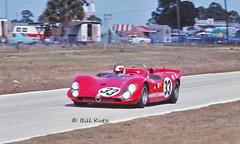 "Alfa Romeo T33/3 at Sebring in 1970 (Nigel Smuckatelli) Tags: 1970 alfaromeo autodelta toinehezemans mastengregory alfaromeot333 1970sebring12hourgrandprix automobile auto heures racing race ""nigel smuckatelli"" ""louis galanos"" classiccar sportauto oldtimersport speed ""gp legends"" ""historic motorsports"" wsc histochallenge autorevue passion vehicle ""world sportscar championship"" ""manufacturer's manufacturer's cars classic prototype autoracing motorsports legends endurance vintage fia csi ""1970 sebring 12 hour gp"" ""sebring raceway"" the12hourgrind sebringinternationalraceway sir florida sebringflorida"
