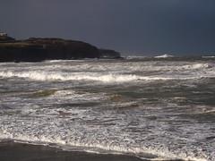 Portrush on a stormy day. (Sal Lim) Tags: portrush waves sea stormy wind shore coantrim nireland