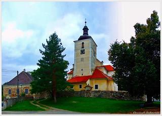 St. Laurentiuskirche in Zirkwitz bei Kuttenberg