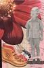 Flower Child : collage collaboration with Sabine Remy (kurberry) Tags: collage collagecollaboration analoguecollage vintageephemera flower