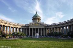 St. Petersburg, Russia (mividaenpostales) Tags: sanpetersburgo rusia russia stpetersburg catedral cathedral nuestraseñoradekazán ourladyofkazan europa europe canon arquitectura architecture