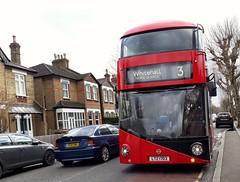 Abellio London LT703 LTZ1703 | 3 to Trafalgar Square (Unorm001) Tags: red london double deck decks decker deckers buses bus routes route diesel hybrid electric dieselelectric battery batteryelectric hybridelectric ltz1703 ltz 1703 703 lt 3