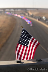 February 2, 2018 - The motorcade escorting Deputy Heath Gumm. (Patrick Martin)