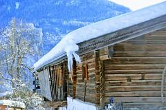 Shed (Maarten Kleijkamp) Tags: austria shed winter snow neukirchen barn icicles wood mountain tree