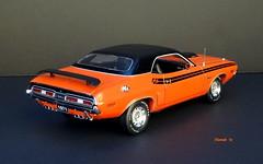1971 Dodge Challenger R/T Hemi Hardtop (JCarnutz) Tags: 124scale diecast franklinmint 1971 dodge challenger rt