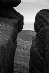 Path (l4ts) Tags: landscape derbyshire peakdistrict darkpeak derwentvalley derwentedge whitetor gritstone gritstoneedge gritstonetors gritstoneoutcrop moorland blackwhite monochrome derwentmoors