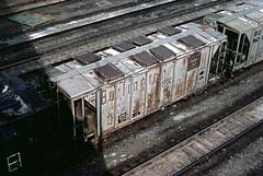 CB&Q Class HC-1C 181912 (Chuck Zeiler) Tags: cbq class hc1c 181912 burlington railroad covered hopper freight car cicero train chuckzeiler chz