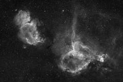 Heart & Soul (AstroVistas) Tags: canon600da nottingham backyard emissionnebula canonef200mmf28l deepskystacker astrophotography deepsky exposurestacking eq6pro eqmod ha astronomikhafilter narrowband hydrogenalpha