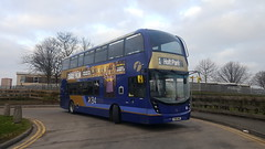 33482 at Beeston Terminus (Moments of Yesterday) Tags: yx66wke first beeston south leeds number one