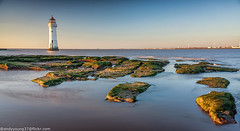 Perch Rock Lighthouse-2 (andyyoung37) Tags: perchrock perchrocklighthouse uk goldenhour sunset thewirral