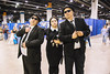 blues brothers and wednesday addams (timp37) Tags: chicago illinois august 2017 rosemont wizard world comic con blues brothers cosplayers nat nathalie wednesday addams family