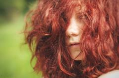 Red Maya (RickB500) Tags: portrait girl rickb rickb500 beauty mode red maya empathie outdoors green redhead