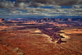 Buck Canyon and an Overlook of Canyonlands National Park