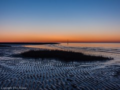 CUX 012018 30 (U. Heinze) Tags: cuxhaven sonnenuntergang nordsee nature elbe olympus
