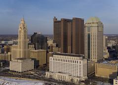 Columbus Up Close (player_pleasure) Tags: columbus ohio capital ariel drone inspire1pro 25mm olympus winter skyline