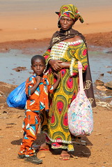 Mother And Son (Alan1954) Tags: portrait two africa holiday cotedivoire ivory coast colourful platinumheartaward