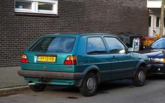 1991 Volkswagen Golf 1.3 CL Madison (rvandermaar) Tags: 1991 volkswagen golf 13 cl madison volkswagengolf vwgolf volkswagengolfii vwgolfii golfii sidecode4 yy13fb rvdm