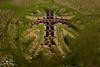 Silent Links (geraintparry) Tags: south wales southwales geraint parry geraintparry dji phantom 3 pro djiphantom aerial drone cardiff grangetown sculpture steel chain chains link links