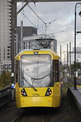 Tram 3109 - Manchester (GreenHoover) Tags: manchestermetrolink tram trams m5000 bombardier 3109