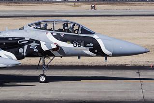 Japan Air Self Defence Force, McDonnell Douglas F-15DJ Eagle, 32-8081.